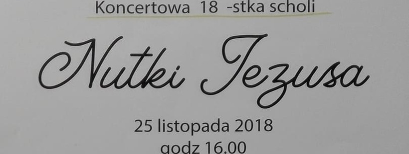 18 Urodziny Scholi Parafialnej Wwwparafiasulejowekpl