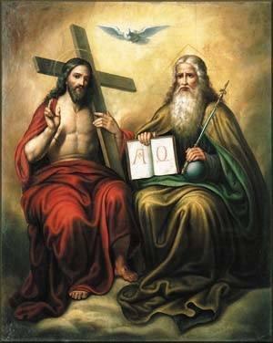 Znalezione obrazy dla zapytania trójca święta